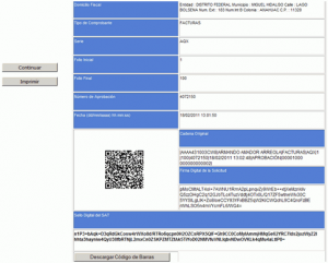 ¿Cómo obtener el Código de Barras Bidimensional (CBB)? - Acuse