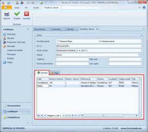 Sotfware para factura electrónica :: Cliente