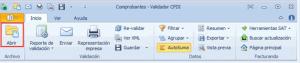 Validador CFDI - Abrir XML
