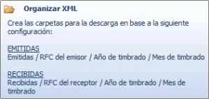 Organizar los XML